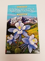 Wildflower Columbine Seed Postcard