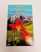Colorado Red Columbine Wildflowers Postcard Packet