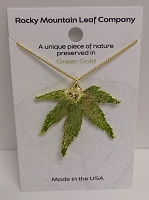 Japanese maple necklace