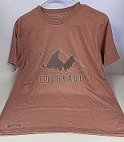 Pink Colorado Mountain Shirt