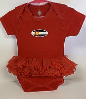 Red Colorado Flag Tutu Onesie