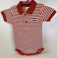 Red Stripe Colorado Flag Onesie