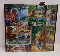 Recycled Smokey The Bear Reusable Bag
