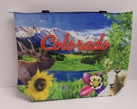 Colorado Collage Tote Bag