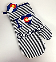 I Heart Colorado Oven Mitt