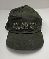 Green Frayed Colorado Hat