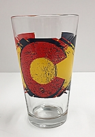 Big C Pint Glass