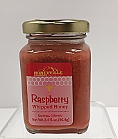 Mini Raspberry Whipped Honey