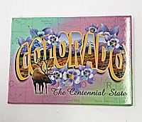 Colorado The Centennial State Magnet