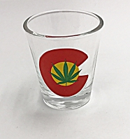 Marijuana Shot Glass