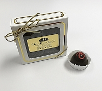 Dark Chocolate Black Forest 4 Piece Truffle