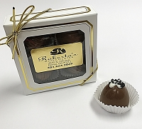 Milk Chocolate Hawaiian Sea Salt 4 Piece Truffles