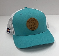 Teal Colorado Patch Hat