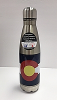 Colorado Flag Double Insulated Thermos