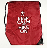 Keep Calm and Hike On String BackPack