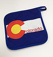 Colorado Flag Hot Pad