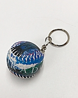 Colorado Scene Baseball Keychain