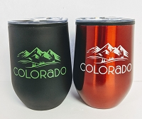 Colorado Wine Glass