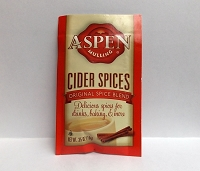Single Serve Aspen Mullings Cider Spices