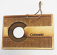 Colorado Flag Ornament