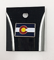 Colorado Flag Rectangle Pin