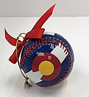 Colorado Baseball Ornament
