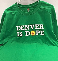 Denver Is Dope T-Shirt - Green
