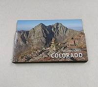 The Crestones Colorado 14er Magnet