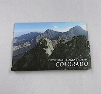 Little Bear-Blanca Traverse Colorado 14er Magnet