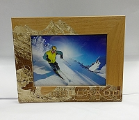 Wooden Colorado Picture Frames 5x7 -Ski Colorado