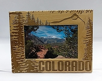 Wooden Colorado Picture Frames 5x7 - H Tree