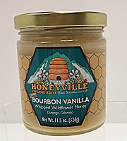 Bourbon Vanilla Whipped Wildflower Honey