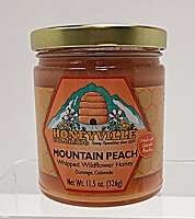 Mountain Peach Honey