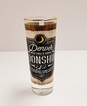 Denver Moonshine Tall Shot Glass