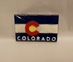 Colorado Flag Chocolate Bar