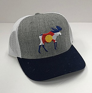 Colorado Flag Moose Hat