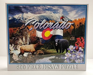 Colorado Collage Puzzle