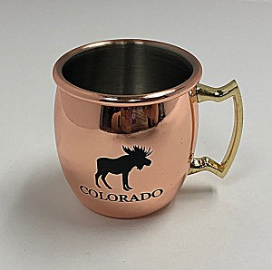 Copper Moose Shot Glass