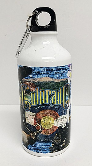 Colorado Collage Water Bottle