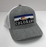 Grey Colorado Flag Mountain Hat