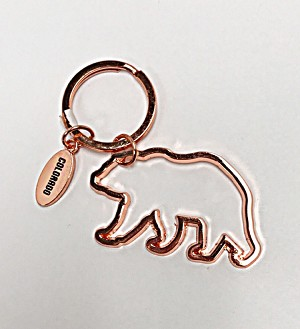 Colorado Outlined Bear Keychain