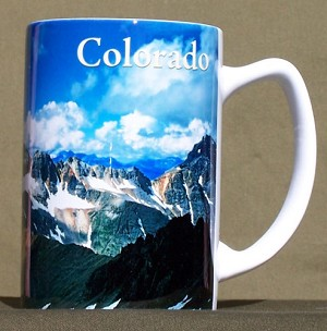 Colorado Hiker Mug