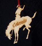 Bronco Ornament