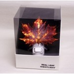 Real Copper Maple Leaf Night Light
