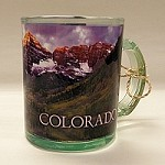 Maroon Bells Clear Mug