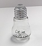 Lit Up In Colorado Shot Glass