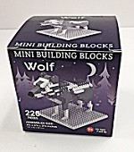Mini Building Blocks Wolf