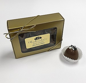 Milk Chocolate Hawaiian Sea Salt 6 Piece Truffles
