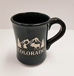 Colorado Mountain Moose Mug