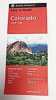 RAND McNally Colorado Road Map
